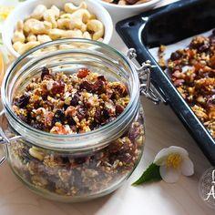 Granola, Muesli, Mango, Acai Bowl, Oatmeal, Beans, Vegetables, Breakfast, Food