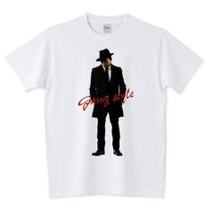 ギャングスタイル 麻生太郎 | デザインTシャツ通販 T-SHIRTS TRINITY(Tシャツトリニティ)