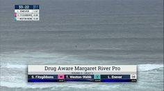 2016 Drug Aware Margaret River Pro (W): Round 3, Heat 1 Video