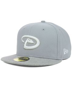 16bfd21cbaf94 New Era Arizona Diamondbacks Diamond Heather 59FIFTY Cap Arizona  Diamondbacks