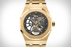 Audemars Piguet Royal Oak Tourbillon Extra-Thin Openworked Watch | Uncrate