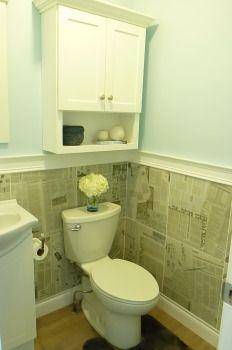 Powder Bath Newspaper, Claire, Tiles, Powder, Lifestyle, Bathroom, Decor, Wall Tiles, Bath Room