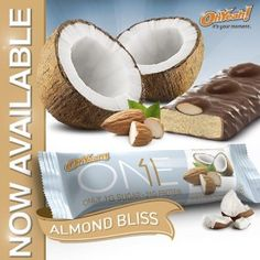 Oh Yeah! ONE Bar ALMOST BLISS flavor: The Best Yet?! https://blog.priceplow.com/oh-yeah-one-bar/almond-bliss  Take a look at these - they're like Almond Joys but in high-protein form factor! #OneBarAlmondBliss #AlmondBliss #Almond