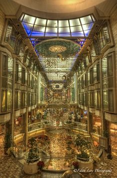 The Royal Promenade on the Navigator of the Seas. Our next cruise ship!