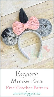Mesmerizing Crochet an Amigurumi Rabbit Ideas. Lovely Crochet an Amigurumi Rabbit Ideas. Owl Crochet Pattern Free, Disney Crochet Patterns, Crochet Disney, Crochet Gratis, Crochet Mouse, Cute Crochet, Crochet Dolls, Free Pattern, Baby Patterns