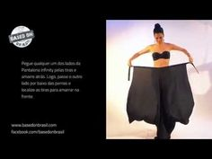 Como vestir a Calça Pantalona Infinity - tipo envelope - by Based On - YouTube