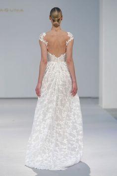50 vestidos de novia con escote a la espalda 2017: ¡los querrás todos! Image: 18