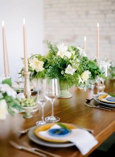 Spring Dinner Party Inspiration + Tips | theglitterguide.com