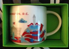 Starbucks You Are Here Series Washington D.C. Mug WAAAANNTTT!!!