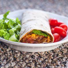 Slow Cooker Black Bean Burritos | Thrifty Below