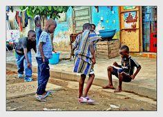 La partie de billes #Abidjan