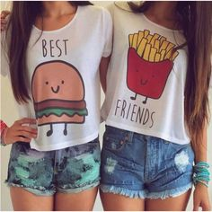 T Shirt Best Friends