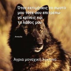 Greek Quotes, Thats Not My, Wolf, Wolves