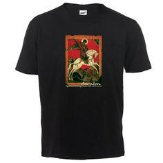 Święty Jerzy #Jerzy #męczennik #smok #dragon #koszulka #koszulki