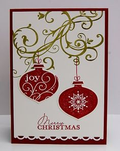 Julies Japes - An Independent Stampin Up! Demonstrator in the UK: Delighful Decorations