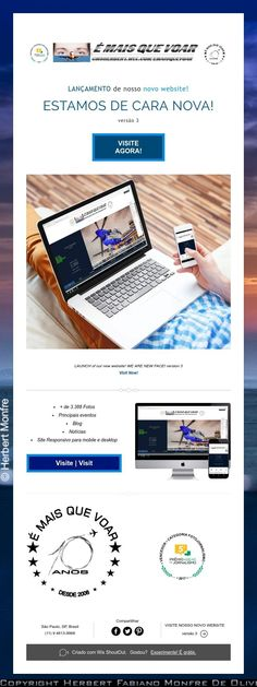 LAUNCH of our new website!  WE ARE NEW FACE!  version 3  Visit Now!