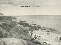 The Beach, Parkdale, 1955 Melbourne Victoria, Victoria Australia, Young Farmers, Old Photos, Beaches, Surfing, Culture, Memories, In This Moment