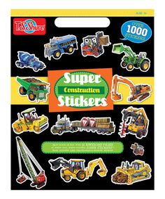 T.S. Shure construction sticker book.