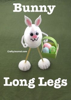 Bunny Long Legs by Crafty Journal