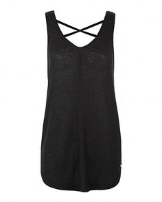 Sweaty Betty - Open Turn Barre Tank - black