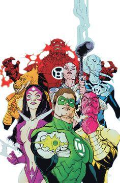 Green Lantern #53 cover by Doug Mahnke