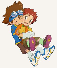 Digimon best friends