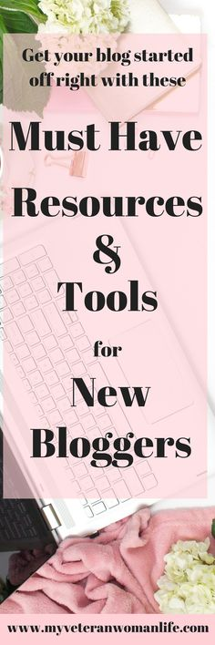 Get your blog started off on the right path with these must have resources and tools for new bloggers.  Everything from resources to start your blog to how affiliate marketing works to how to take your Pinterest strategy to the next level.