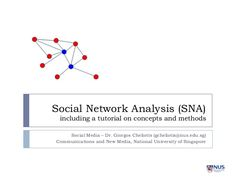 OrgnetCom Provides Social Network Analysis Software  Services