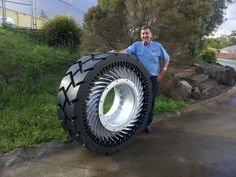 Non Pneumatic Tire for Mining Industry