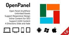 OpenPanel - Open Responsive Panel Anywhere
