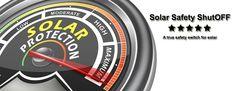 Solar Safety ShutOFF : Air gap isolation technology Flood Damage, Safety Switch, Solar Panels, Gap, Technology, Sun Panels, Tech, Solar Power Panels, Tecnologia
