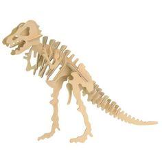 Wooden 3D Dinosaur Puzzle