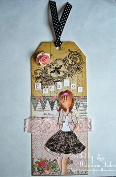 Marianne's Craftroom: Playing with my new doll: