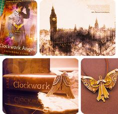 The Infernal Devices #ClockworkAngel. Haven't read yet but I plan to.
