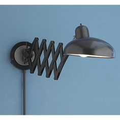 Accordion Modern Swing Arm Wall Sconce: Remodelista