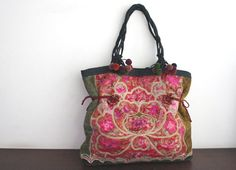 TOTE  Ethnic / Hip / Tribal / Hmong / Miao / by dazzlinglanna, 240.00