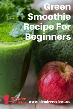 Transitioning your smoothies to include more vegetables can become a little tricky. This simple green smoothie recipe is great for beginners. Easy Green Smoothie Recipes, Green Smoothie Cleanse, Green Detox Smoothie, Healthy Green Smoothies, Smoothie Prep, Easy Smoothies, Fruit Smoothies, Juice Cleanse, Frozen Fruit Smoothie