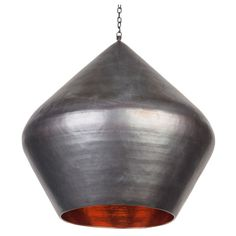 Big Drum Copper Pendant (£299) ❤ liked on Polyvore featuring home, lighting, ceiling lights, outside lamps, copper outside lights, outside hanging lights, outdoor lighting and drum ceiling lights