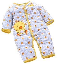 Baby Toddler Cotton Sleeveless Infant Jumpsuit 29(Yellow,6-9 Months)