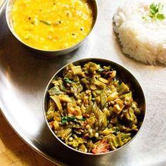 okra dry curry by vegrecipesofindia