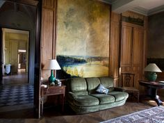 Chateau du Pin - Love the painting and its use of both color and space.