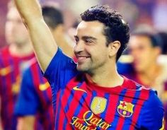 """Xavi not interested in Premier League move""""I never thought of leaving like Cesc Fabregas, who went to Arsenal."""""""