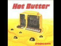 Pop corn hot butter
