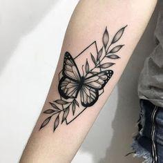 The 29 Best Butterfly Tattoo Ideas … ink ✨ - tattoo feminina Mini Tattoos, New Tattoos, Body Art Tattoos, Small Tattoos, Sleeve Tattoos, Tatoos, Zealand Tattoo, Geniale Tattoos, Butterfly Tattoo Designs