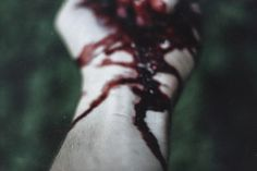 """""""Yet who would have thought the old man to have had so much blood in him."""" (V.I.38)"""