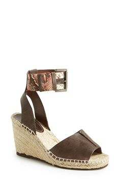 Now on sale! Charles David 'Ofilia' Ankle Strap Espadrille Wedge (Women) @Nordstrom
