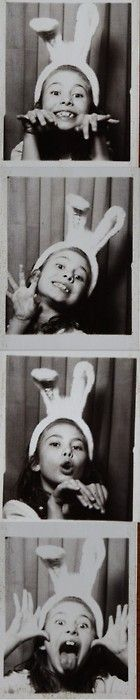 {Images} Photobooths!  What is it about photobooths? I think it is a way that we are consciously framing a moment — and I love that kind of intention. Here I am. Who do I want to be? Oh, I can be all these different people. Wheeee!