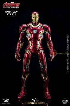 """Diecast Figure Series DFS014 """"Avengers: Age of Ultron"""" 1/9th Scale Mark XLV"""