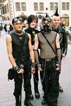 Cyber Goth Group by fluffy_steve, via Flickr