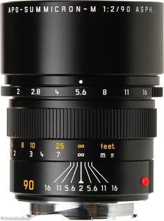 LEICA 90mm f/2 ASPH APO-SUMMICRON-M 11884 (1998 - ) The World's Highest Performance Lens.